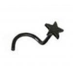 Black Steel Star Nose