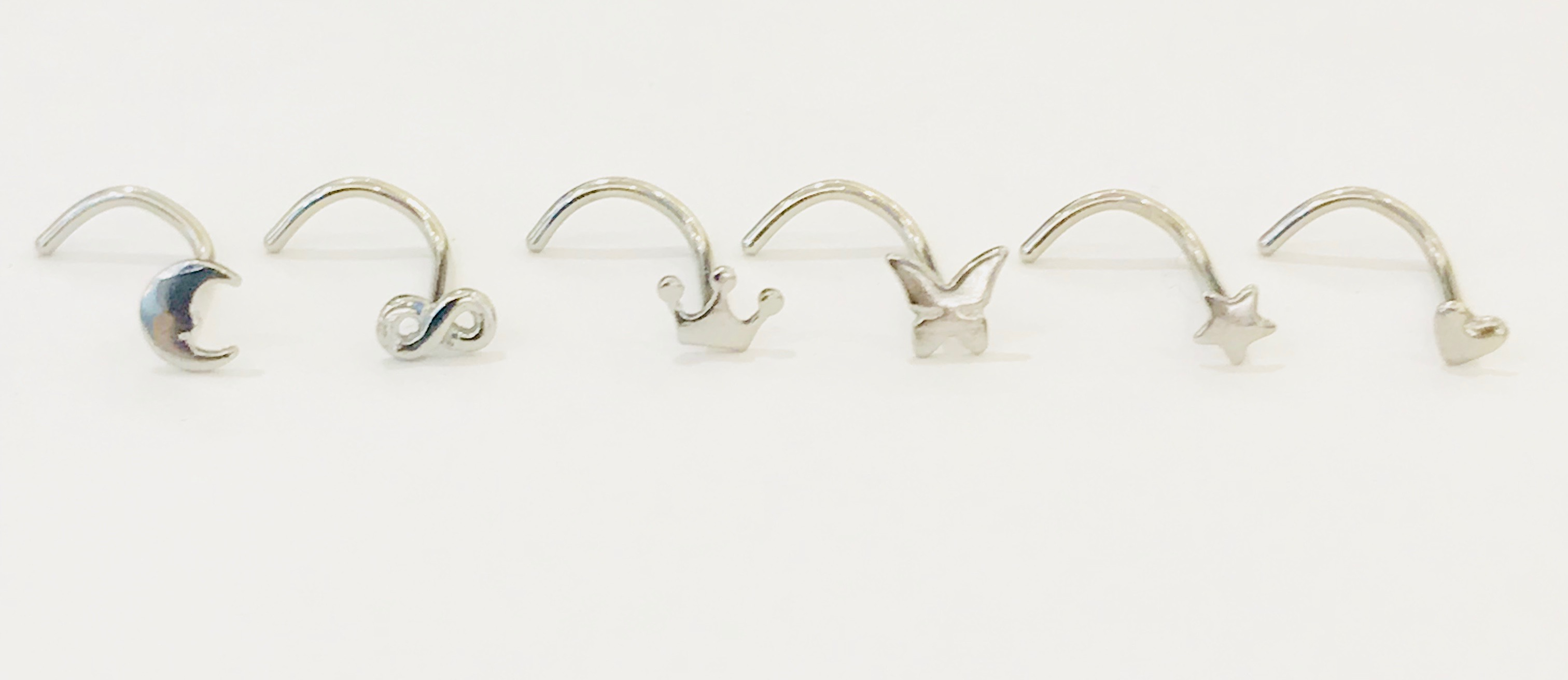 Surgical Steel Nose Rings by Angel Body Jewellery